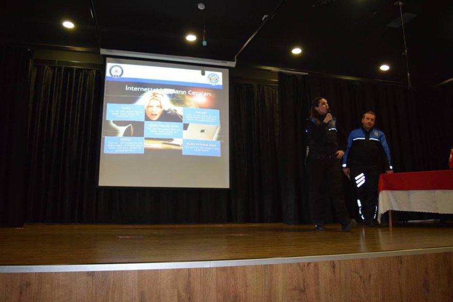 eSafety Güvenlik Eylem Planı Siber Suçlar Bilgilendirme Etkinliği