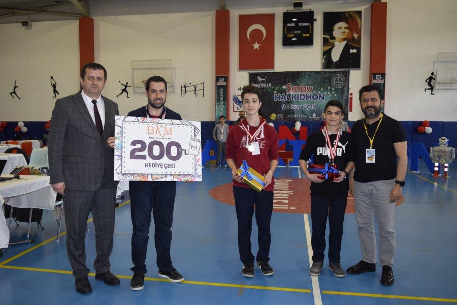 Sınav Hackidhon Yarışması Kazananları Belli Oldu