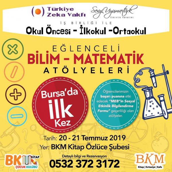 Türkiye Zeka Vakfı Bilim Matematik Atölye Katılımı