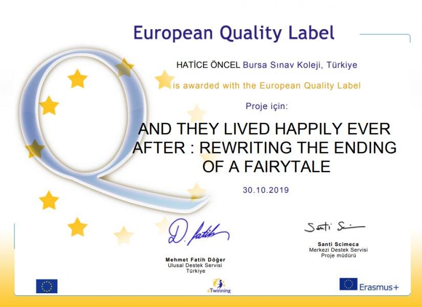 Avrupa Kalite Etiketi