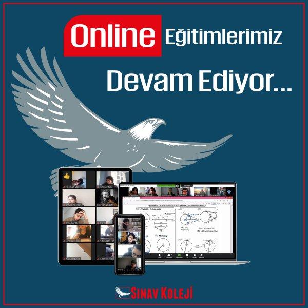 Online Eğitim Devam ediyor