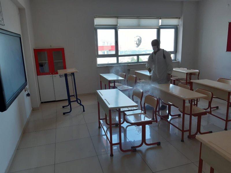 Okul Dezenfeksiyon İşlemleri