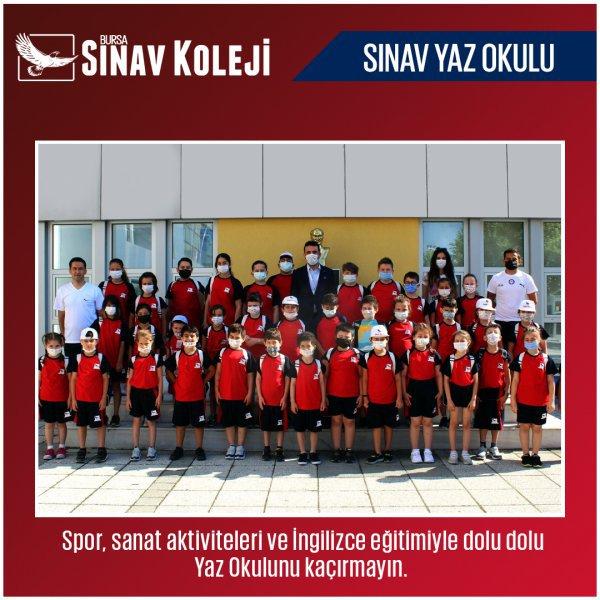 Sınav Koleji Tam Gün Yaz Spor Okulları Başladı!